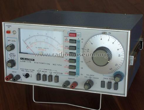 Distortion Meter LDM-170; Leader Electronics (ID = 1279165) Equipment