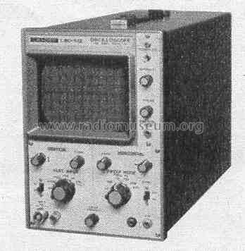 Oscilloscope LBO-512; Leader Electronics (ID = 432733) Equipment