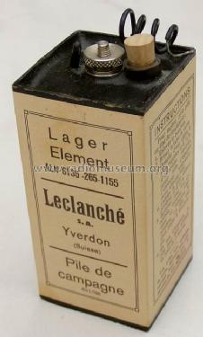 Lager Element ALN 6135-265-1155; Leclanché SA; (ID = 394166) Power-S