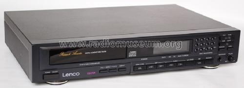 Digital Compact Disc Player CD 3705 ; Lenco; Burgdorf (ID = 1501699) R-Player