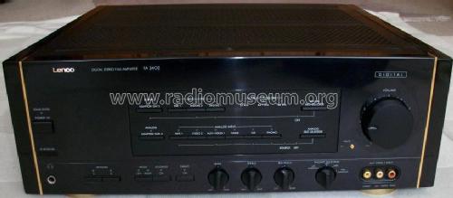 digital stereo full amplifier fa 3402 ampl mixer lenco burg. Black Bedroom Furniture Sets. Home Design Ideas