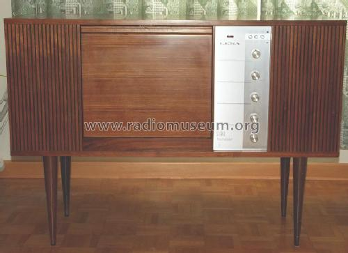 Stereo Transistor Amplifier - Record Player 707; LESA ; Milano (ID = 1767909) R-Player