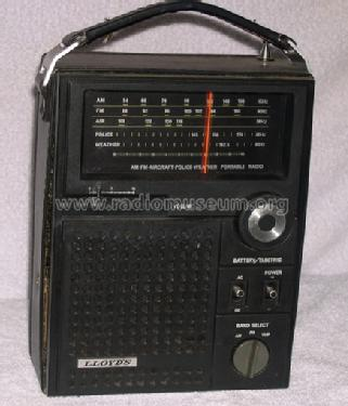AM-FM-Aircraft-Police-Weather Portable Radio Lloyd's Electro