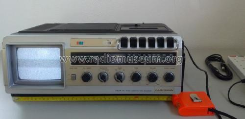 5' Color TV Radio Cassette Tape Recorder T-055; Lloytron, Hong Kong (ID = 1700579) TV Radio