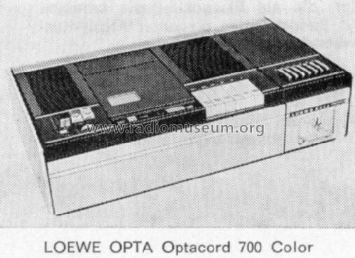 Optacord Color System VCR 52520; Loewe-Opta; (ID = 38421) R-Player