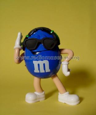 M&M's AM/FM Radio Collectors Blue Character Radio Radio M&M'
