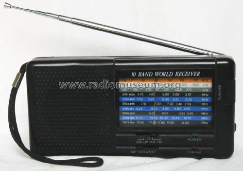 10 Band World Receiver 40 143; M-tronic; wo? where? (ID = 2580602) Radio