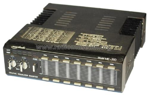Graphic Equalizer Booster ME-110 Ampl/Mixer Mac Audio Electr