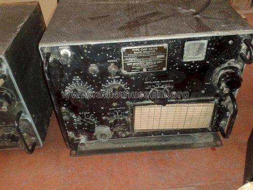 Radio Receiver CMX-46159 - TCS-12; Magnavox Co.; Fort (ID = 1457542) Military