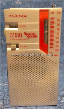 Spatial Sound D1510; Magnavox Co.; Fort (ID = 1480910) Radio