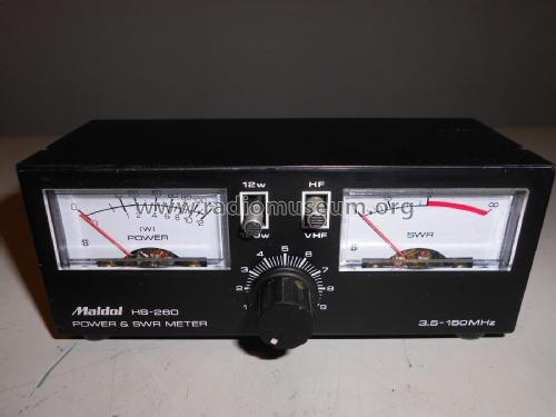 Power & SWR Meter HS-260 Amateur-D Maldol