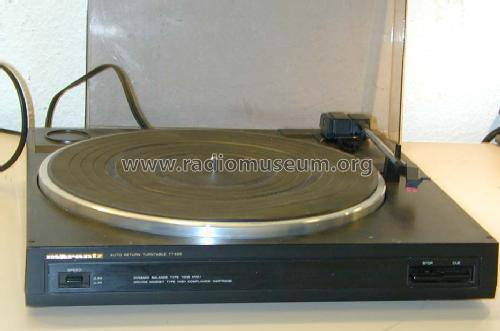 Auto Return Turntable TT493; Marantz Sound United (ID = 1652013) R-Player