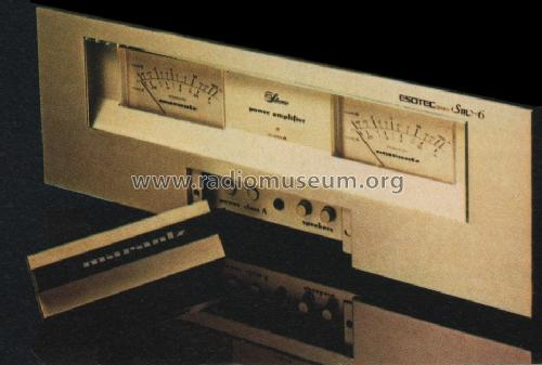 Esotec Stereo Power Amplifier SM-6; Marantz Sound United (ID = 950253) Ampl/Mixer