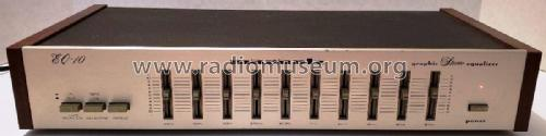 Graphic Stereo Equalizer EQ 10; Marantz Sound United (ID = 2444633) Ampl/Mixer