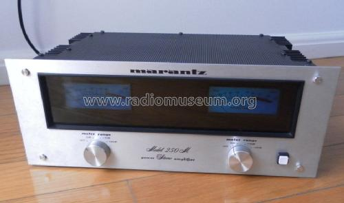 Power Stereo Amplifier 250M; Marantz Sound United (ID = 1471942) Ampl/Mixer