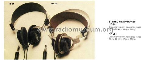 Stereo Headphone HP-25; Marantz Sound United (ID = 1814268) Speaker-P