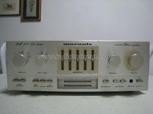 Stereo Console Amplifier PM 510 DC ; Marantz; Itasca (ID = 2012567) Ampl/Mixer