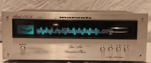 FM/AM Stereophonic Tuner 105B; Marantz Japan Inc; (ID = 1934377) Radio