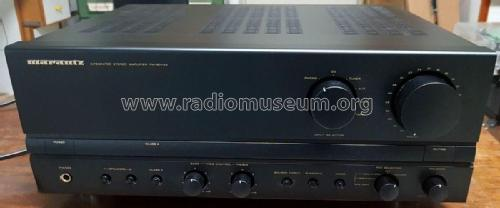 Integrated Stereo Amplifier PM-80mkII 74PM80; Marantz Japan Inc; (ID = 2369687) Ampl/Mixer