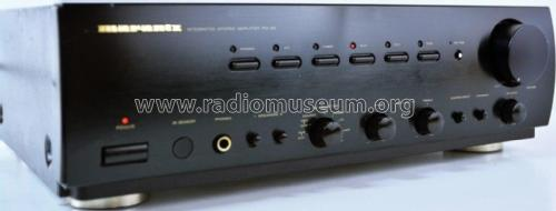 Integrated Stereo Amplifier PM-63 74PM63 /01B /02B /01G /02G; Marantz Sound United (ID = 2371255) Ampl/Mixer