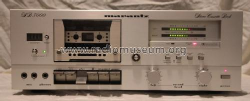 Stereo Cassette Deck SD3000 ; Marantz Sound United (ID = 2182149) R-Player