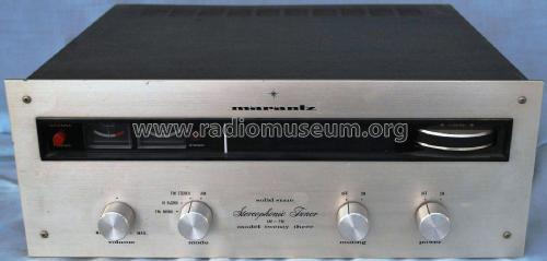 Stereophonic Tuner Model Twenty Three ; Marantz Sound United (ID = 2075468) Radio