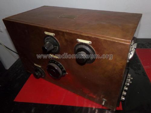 Three Valve Short Wave Receiver ; Marconi Co. (ID = 2391239) Radio
