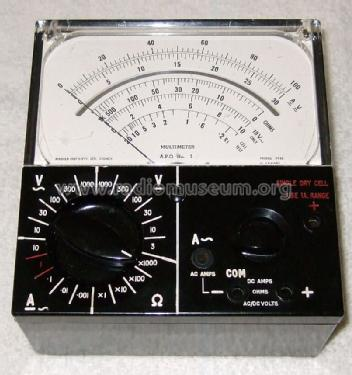 APO Multimeter No. 3 ; Master Instruments (ID = 1296254) Equipment
