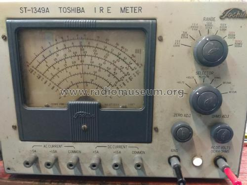 IRE Meter - Multimeter ST-1349A; Toshiba Corporation; (ID = 2134720) Equipment
