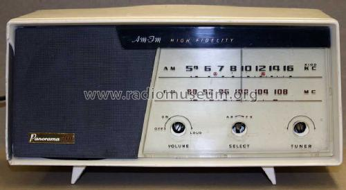 Panorama AM-FM High Fidelity 310; Panasonic, (ID = 913248) Radio