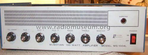 100 W Amplifier MS-1004L W Ampl Aged