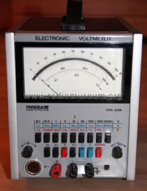 Electronic Voltmeter U726; Meratronik SA; (ID = 1578964) Equipment