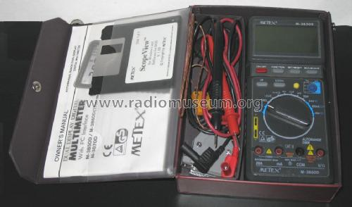 Digital Multimeter M-3850 D; Metex Corporation, (ID = 1374130) Equipment