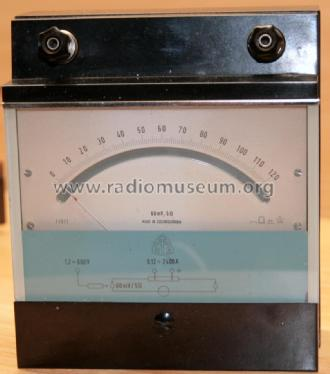 Millivoltmeter 60 mV; Metra Blansko; (ID = 2486664) Equipment