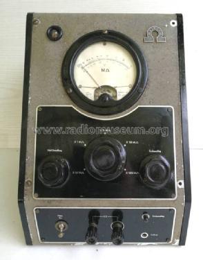 Megaohm Meter Ma62 Equipment Metrohm Ag Herisau Build 1950