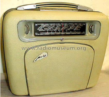 Babyphon 200 Radio Metz Transformatoren- und Apparatefabrik