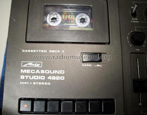 Metz Technik und Service Megasound-Studio 4920
