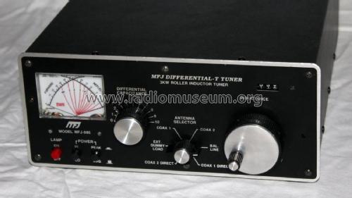 Differential-T Tuner MFJ-986 mod-past25 MFJ Enterprises