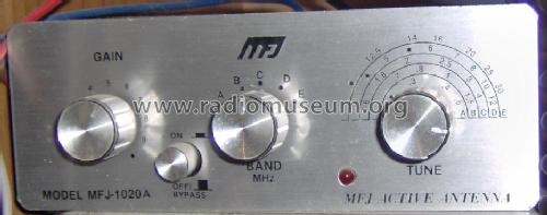 Indoor Active Antenna MFJ-1020A RF-Ampl  MFJ Enterprises