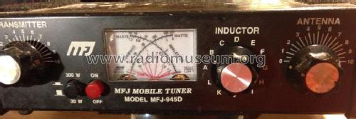 Mobile Antenna Tuner MFJ-945D Amateur-D MFJ Enterprises