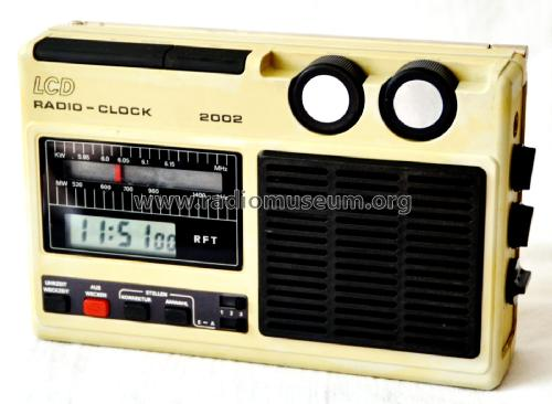 LCD Radio-Clock RC2002; Mikroelektronik ' (ID = 2503746) Radio