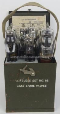 Case Spare Valves Wireless Set No. 19; MILITARY Canada (ID = 1601968) Military