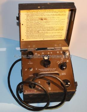 Wavemeter Class D No. 1 MK.2/1; MILITARY U.K. (ID = 1766704) Equipment