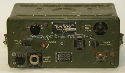 Wireless Set No.31 ; MILITARY U.K. (ID = 1173506) Military