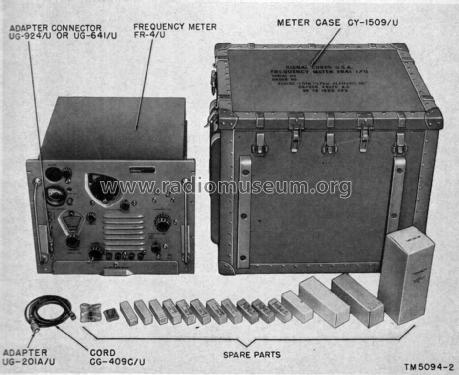 Frequency Meter AN/URM-79; MILITARY U.S. (ID = 2339191) Equipment