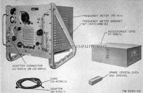 Frequency Meter AN/URM-82; MILITARY U.S. (ID = 2339205) Equipment
