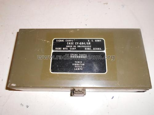 Case Spare Parts CY-684/GR; MILITARY U.S. (ID = 2371092) Radio part