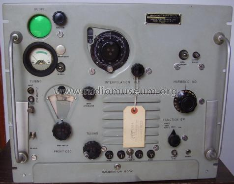 Frequency Meter FR-4/U; MILITARY U.S. (ID = 2338933) Equipment