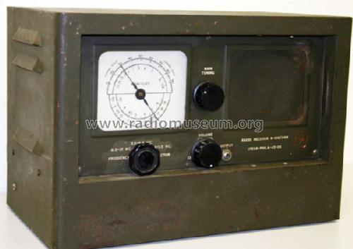 Receiver R-100/URR; MILITARY U.S. (ID = 262269) Radio