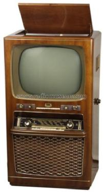 Gloriette 590A; Minerva-Radio (ID = 424516) TV Radio